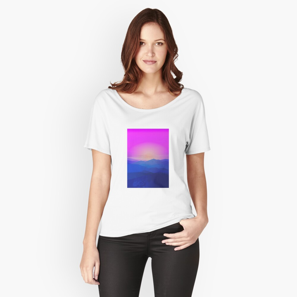 Australia mountains Women's Relaxed Fit T-Shirt Front