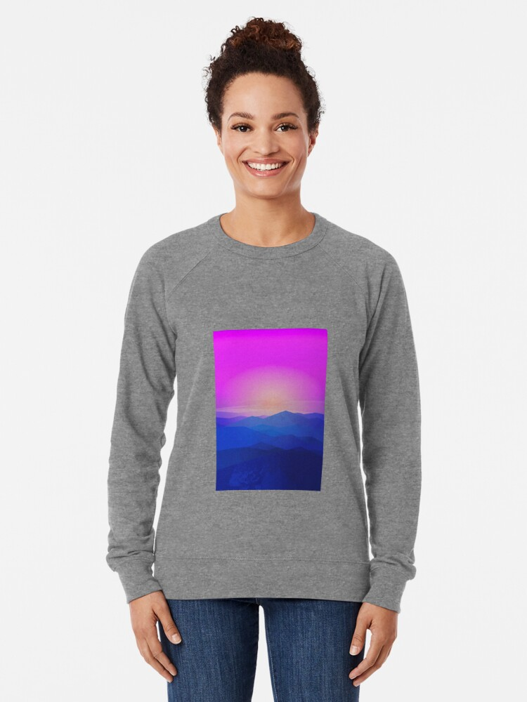 Alternate view of Australia mountains Lightweight Sweatshirt