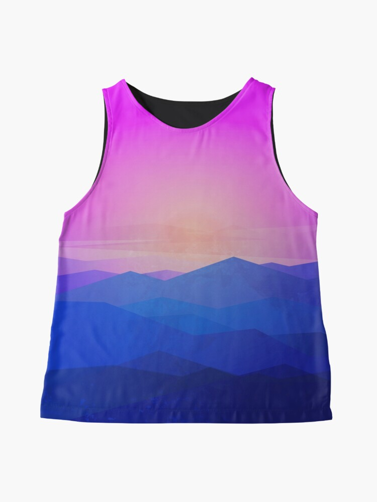 Alternate view of Australia mountains Sleeveless Top