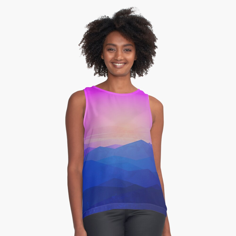 Australia mountains Sleeveless Top