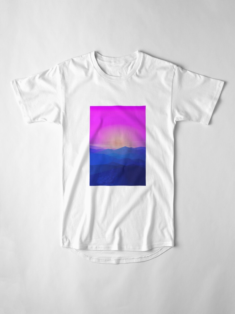 Alternate view of Australia mountains Long T-Shirt