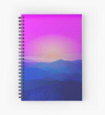 Australia mountains Spiral Notebook