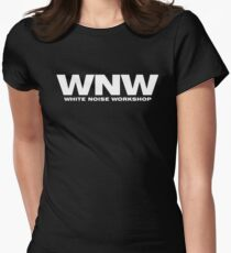 White Noise Workshop Women's Fitted T-Shirt