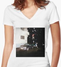 Brand New - Science Fiction Women's Fitted V-Neck T-Shirt
