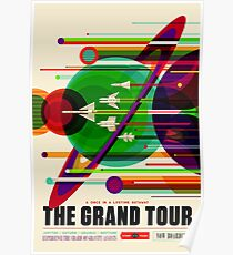 NASA / JPL Visionen der Zukunft - Die Grand Tour Poster