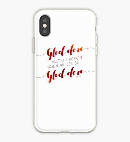 Gled dere alltid i Herren iPhone Case