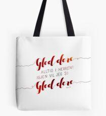 Gled dere alltid i Herren Tote Bag