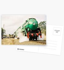 STEAMING Postcards
