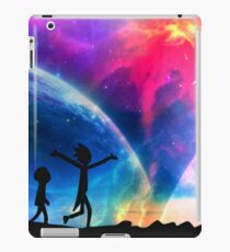 rick and morty vs the universe iPad Case/Skin