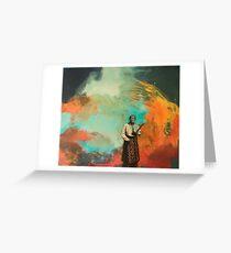 Black Elk speaks  Original painting by gail weissman    Greeting Card