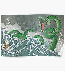 Dragon of the Deep Poster