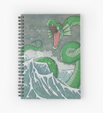 Dragon of the Deep Spiral Notebook