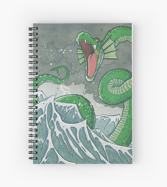 Dragon of the Deep by ollierayart