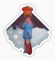 Kesha - Rainbow Inspired Minimalist Sticker