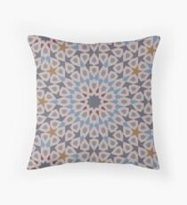 G Blue 4 2 Throw Pillow