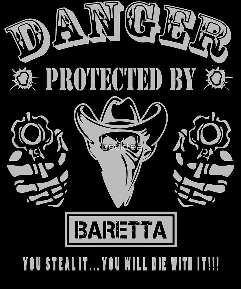 Baretta by becktea