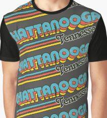 Chattanooga, TN | City Stripes Graphic T-Shirt