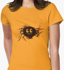 Happy Halloween Spider Women's Fitted T-Shirt