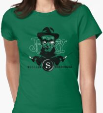 William S Burroughs revisted Womens Fitted T-Shirt
