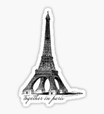 Together in Paris  Sticker