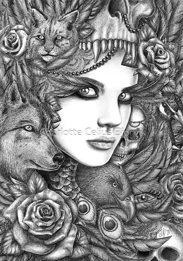 Wolf two by charlottecelius