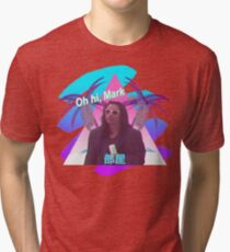 Vaporwave The Room  Tri-blend T-Shirt