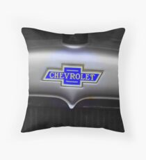 Chevy badge Throw Pillow