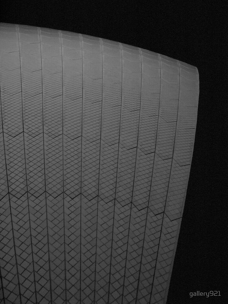 sydney opera house sail at night by gallery921