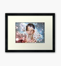 Light Storm  Framed Print
