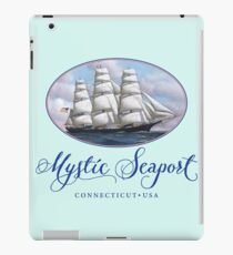 Mystic Seaport Clipper Ship iPad Case/Skin