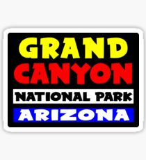 GRAND CANYON NATIONAL PARK ARIZONA HIKING CLIMBING KAYAK NATURE RAFTING COLORADO RIVER Sticker