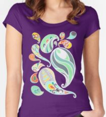 Paisley Juice Women's Fitted Scoop T-Shirt