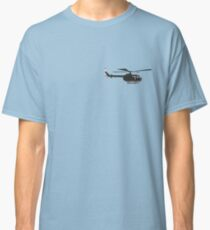 Black German helicopter Bo105  Classic T-Shirt