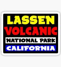 LASSEN VOLCANIC NATIONAL PARK CALIFORNIA Sticker