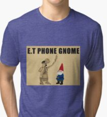E.T Phone Gnome Tri-blend T-Shirt