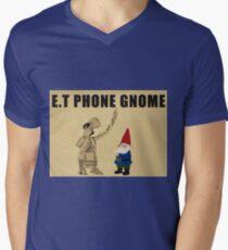 E.T Phone Gnome Mens V-Neck T-Shirt