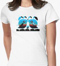 Sunrise Love Birds TShirt Womens Fitted T-Shirt
