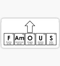 FAmOUS Sticker