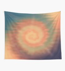 Tie Dye Sunset Wall Tapestry
