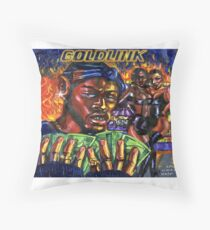GoldLink - At What Cost Throw Pillow
