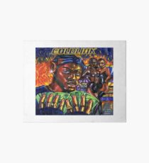 GoldLink - At What Cost Art Board