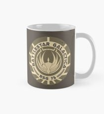 Battlestar Galactica - BSG 75 logo Mug