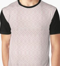 Pink Rug Geometric Pattern | Texture #home #lifestyle Graphic T-Shirt