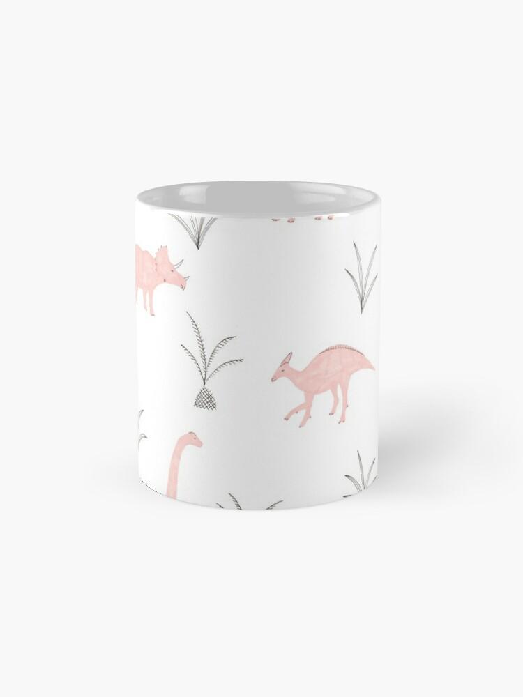 Alternate view of Pink Dinosaurs Mug