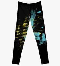 Watercolor Abstract Painting Leggings