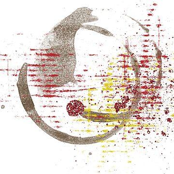 Pintura abstracta acuarela de MyArt23