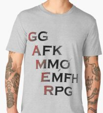 Gamer Acronyms Men's Premium T-Shirt