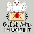 Owl It To Me I'm Worth It by Katy Rochelle