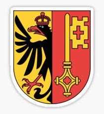 Geneva Coat of Arms Sticker