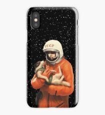 SOVIET SPACE HEROES - LAIKA / GAGARIN iPhone Case/Skin